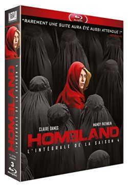 Homeland saison 4 - Blu Ray