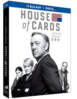 House of cards - Intégrale Saison 1 à 3 - Blu Ray