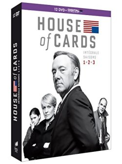 House of cards - Intégrale Saison 1 à 3 - DVD