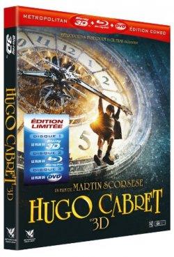 Hugo cabret Blu-ray 3D
