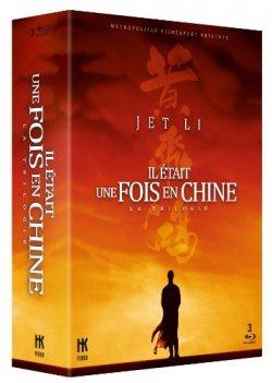 Il était une fois en Chine - Coffret trilogie Blu-Ray