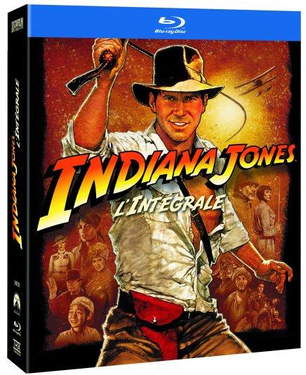 La trilogie Indiana Jones en Blu Ray