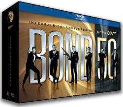 James Bond : coffret intégral Blu Ray