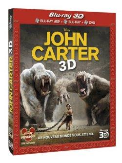 John Carter Blu Ray 3D