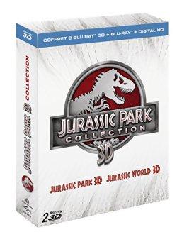 Jurassic Park 3D + Jurassic World 3D - (Coffret Blu-ray 3D + 2D)