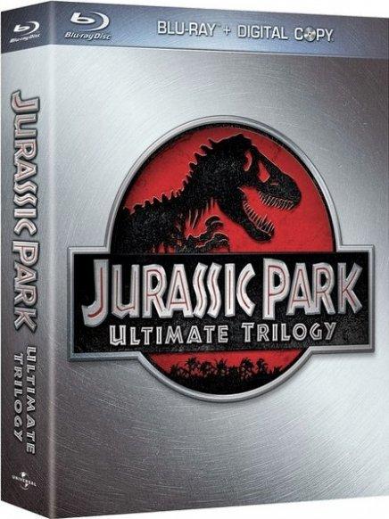 Jurassic Park : le Blu Ray