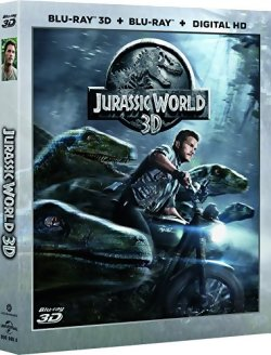 Jurassic World - Blu Ray 3D + 2D