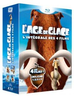 L'Age de Glace, l'intégrale Blu-Ray