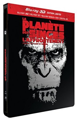 La Planète des Singes : L'Affrontement - Blu Ray 3D Collector