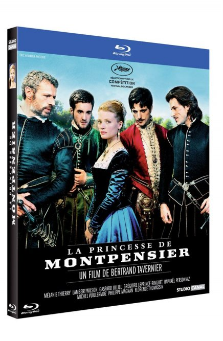 Test Blu-ray Test Blu-ray La Princesse de Montpensier