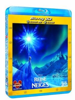 La Reine des neiges - Blu Ray 3D