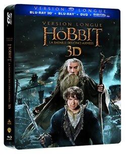 Le Hobbit : La bataille des cinq armées Version Longue [Collector Steelbook]