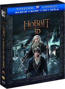 Le Hobbit : La bataille des cinq armées Version longue - Blu Ray 3D + BR + DVD