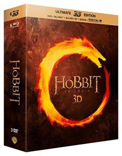 Le Hobbit - La trilogie Blu Ray 3D