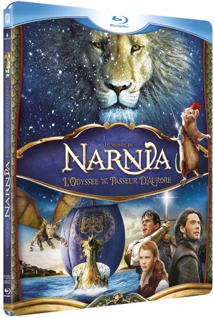 Test Blu-Ray de Le Monde de Narnia : L'Odyssée du Passeur d'Aurore