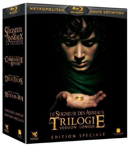 Blu Ray : Le Seigneur des Anneaux version longue