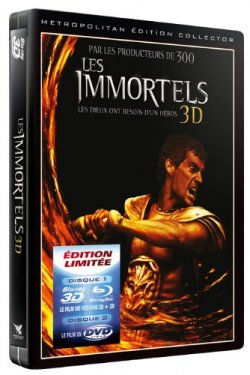 Les immortels Blu ray 3D