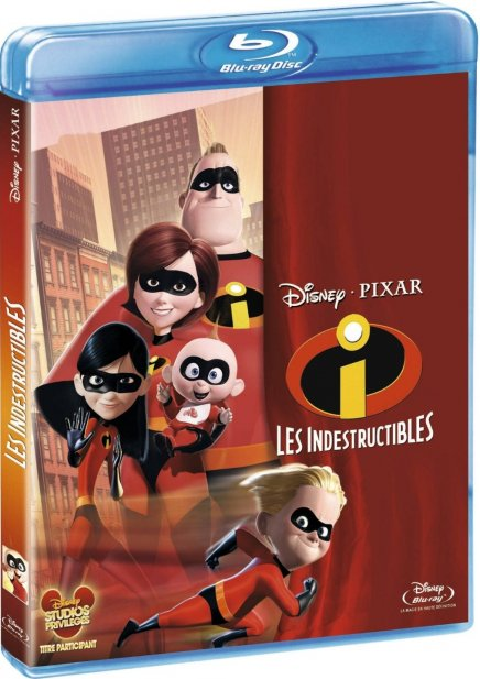 Le Blu-ray Le Blu-ray Les Indestructibles