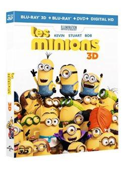 Les Minions - Blu Ray 3D