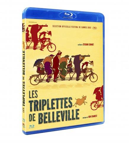 Test Blu-ray du film Test Blu-ray du film Les Triplettes de Belleville