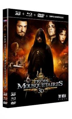 Les Trois Mousquetaires 3D Blu Ray