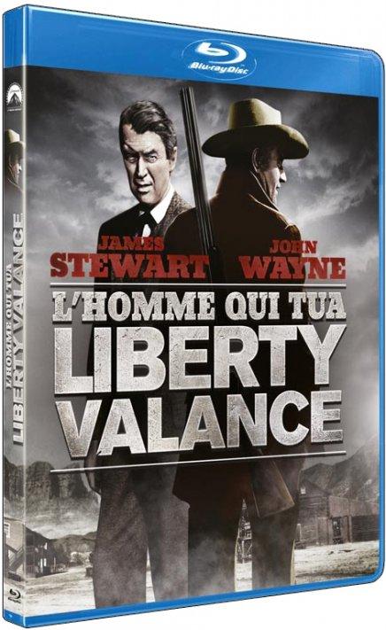L Homme qui tua Liberty Valance en Blu Ray