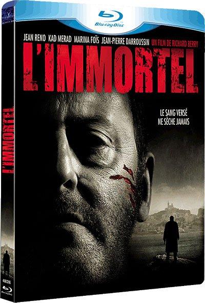 Test du Blu-Ray Test du Blu-Ray L'Immortel avec Jean Reno, Kad Merad, Jean-Pierre Daroussin avec Jean Reno, Kad Merad, Jean-Pierre Daroussin