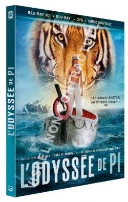 L'Odyssée de Pi - Blu Ray 3D