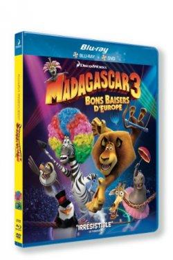 Madagascar 3 : bons baisers d'europe - Blu Ray
