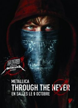 Metallica Through the never - Blu Ray