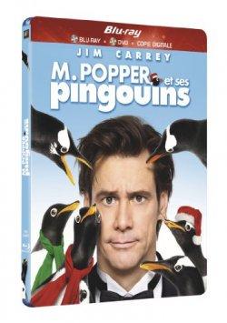 M. Popper et ses pingouins Blu ray