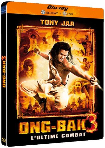 Ong Bak 3 DVD et Blu Ray
