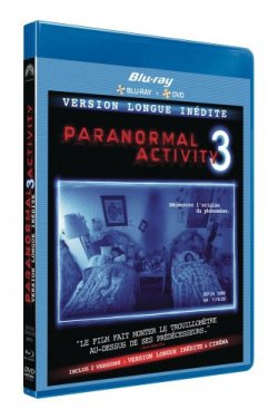 Paranormal activity 3 Blu-ray + DVD