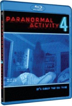Paranormal Activity 4 - Blu Ray