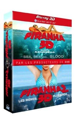 Piranha 3D + Piranha 3DD - Blu Ray 3D