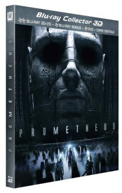 Prometheus Blu Ray Collector