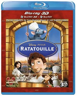 Ratatouille - Blu Ray 3D