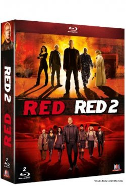 RED + RED 2 - Blu Ray