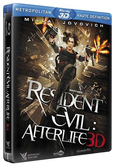 Test du Blu-Ray Test du Blu-Ray Resident Evil : Afterlife 3D