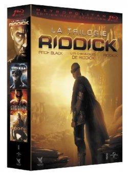 Riddick - Coffret trilogie Blu Ray