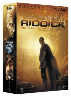 Riddick - Coffret trilogie DVD