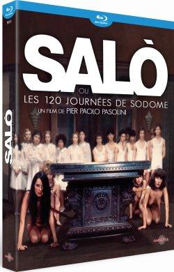 Salo ou les 120 journées de Sodome - Blu-Ray