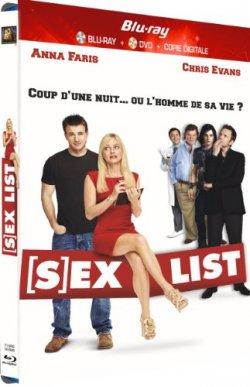 Sex list Blu Ray