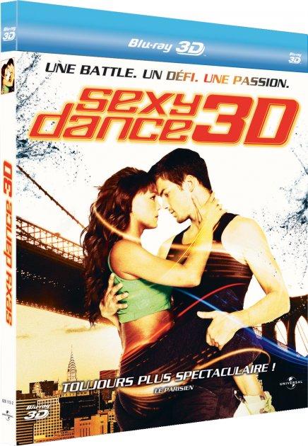 Tout sur les DVD et Blu-ray 3D de Sexy Dance 3, The Battle