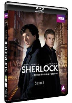 Sherlock saison 3 - Blu Ray