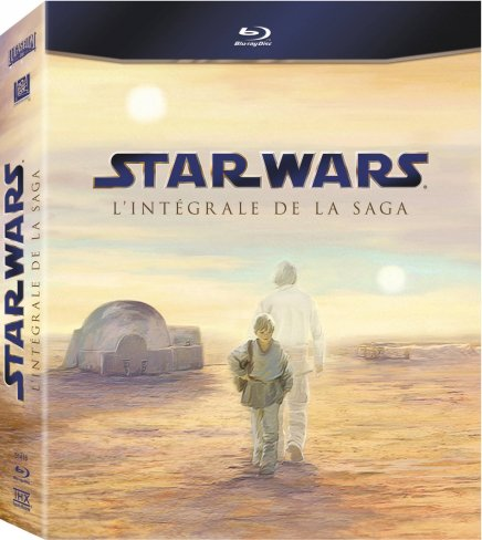 Les coffrets Blu Ray Star Wars