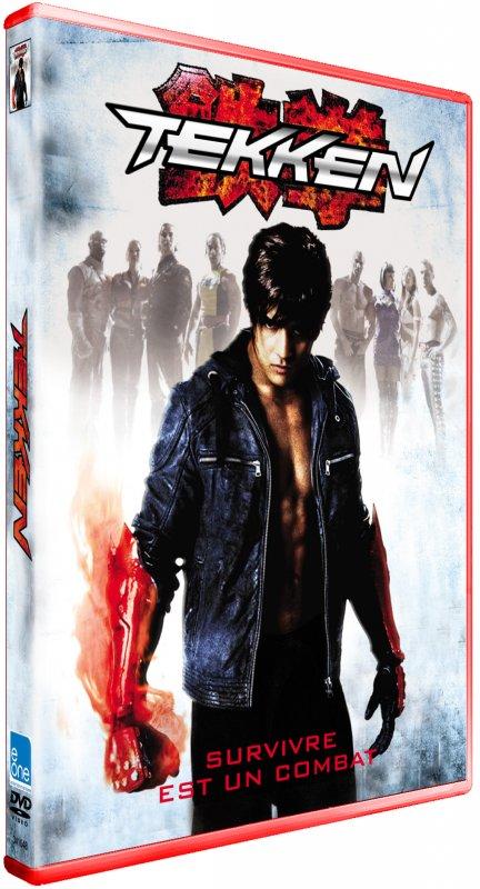 Tout sur Tekken en DVD et Blu-Ray