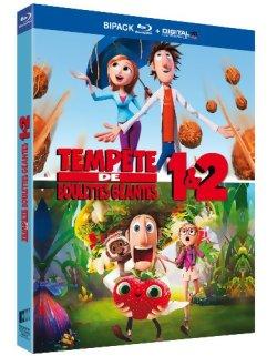 Tempête de boulettes géantes 1 et 2 - Blu Ray