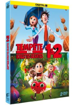 Tempête de boulettes géantes 1 et 2 - DVD