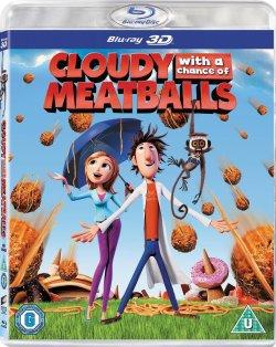 Tempête de boulettes géantes - Blu-Ray 3D